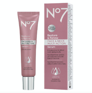 Boots No. 7 Restore and Reface and Neck Multi Action Serum - 1oz
