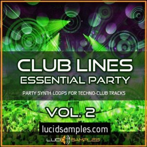 Clublines Vol.2, Download 889 Synth Loops for Techno Production