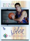 2005-06 Ultimate DAVID LEE Auto RC Rare Redemption Platinum Holo Foil SP #/5