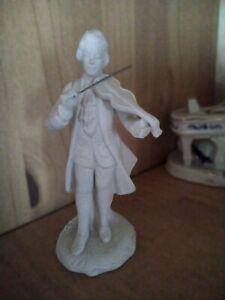 Figur,Bisquit,weiß,Porzellan,Barock,Mozart