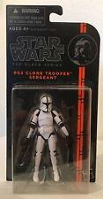 "Star Wars The Black Series #02 CLONE TROOPER SERGEANT 3 3/4"" Figure 2013"