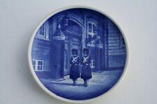 Royal Copenhagen Denmark Souvenir 3 1/4 inch Plate Ornament Kongens Livgarde