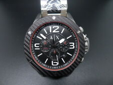 NEW OLD STOCK ARMANI EXCHANGE AX1521 CHRONOGRAPH STAINLESS STEEL QUARTZ WATCH