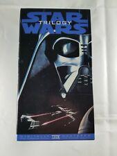 STAR WARS TRILOGY 1995 VHS Box Set A New Hope Empire Strikes Back Return of Jedi