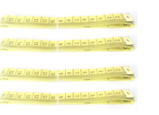 4 x 60 Inch 150cm Measuring Tapes Dressmaker Tailor Knitting Measure Sewing Flat