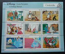 Grenada Cinderella 1987 Walt Disney Cartoon Animation (sheetlet) MNH