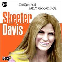 SKEETER DAVIS  *  40 Greatest Hits  * New 2-CD Boxset * All Original Songs * NEW