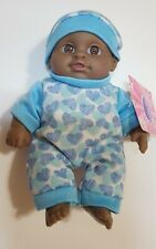 "7"" Baby Boy Doll in Sleeper with Matching Hat New with Tags"