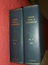 American Journal of Neuroradiology Volumes 16-17 1995-1996