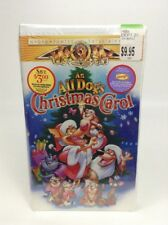New 1998 MGM Family Entertainment An All Dogs Christmas Carol VHS Movie Sealed