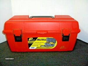 "Plano 20"" #651 Tool Box Tray Portable Chest Storage Tote Bin Utility NEW"