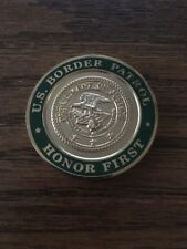 US Border Patrol USBP DOJ Honor First El Paso FORBPO Challenge Coin