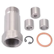 O2 Sensor Extension Spacer Oxygen Sensor Bung Plug + Adjustable Gas Flow Inserts