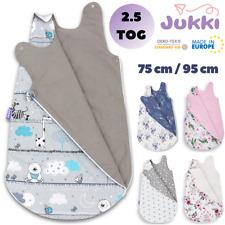 Baby Schlafsack Wattiert 2.5 TOG 75 /95 cm (3-12 /12-24 M) ? Baumowolle STERNE