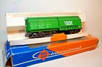 "WAGONS TRAIN HO : DOUBLE TREMIE ""VAM COMPOST"" de ROCO OCCASION (en boite 4368)"