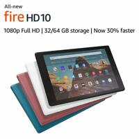 "All-New Fire HD 10 Tablet (10.1"" 1080p full HD display) - 32GB/64GB  - 3 COLORS"