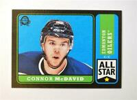 2018-19 UD O-Pee-Chee OPC Retro Black Border #1 Connor McDavid /100