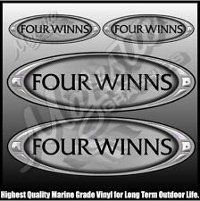 FOUR WINNS  -  Set of 4 DECALS - BOAT DECALS