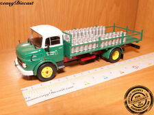 MERCEDES-BENZ L1113 L-1113 1:43 GERMANY MILK TRANSPORT TRUCK CAMION 1968 IXO