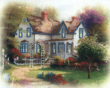 Cross Stitch Kit ~ Thomas Kinkade Home Where Heart Is II #51436 OOP SALE!