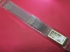 Rare NEW KREISLER Mens Vintage Diver/Sport SS Mesh Watch Band. 17.4mm