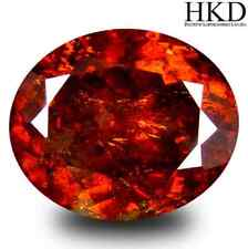 13.50 cts HKD-Certified Natural Oval-cut Yellowish-Orange VS Sphalerite (Spain)