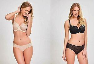 New Panache Lingerie Envy Brief Black or Nude  Various Sizes