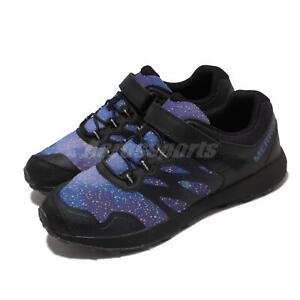 Merrell Nova 2 Gid Night Sky Black Purple Blue Kids Junior Outdoors MK265346