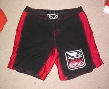 Bad Boy MMA Pantaloncini 38W XL Extra Large UFC Bjj Jiu Jitsu Muay Thai Boxe in palestra KSW