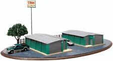 N Atlas 4001016 * Self Storage Units Laser Cut wood kit * NIB
