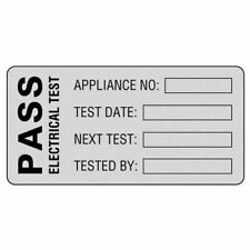 Martindale POLY1 High Quality PASS PAT Test Labels - Roll Of 500