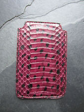 Paul Smith PS Purple Snakeskin Phone Case Brand New
