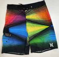 Mens Hurley Phantom Board Shorts Size 40 Striped