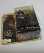 BILLY THE KID FIGURE MacFarlane Outlaw COWBOY Action Figure WILD WEST - NEW