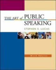 The Art of Public Speaking, 9th Edition, Stephen E. Lucas, Good Book