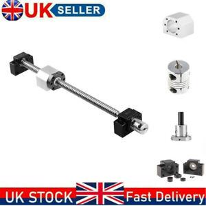 SFU/RM1605 BallScrew L350mm-1500mm with Ballnut Housing Couplers &BK/BF12 Set UK