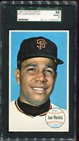1964 Topps Giants Baseball #37 Juan Marichal San Francisco Giants SGC 88 NM/MT