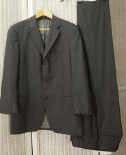 """HUGO BOSS Suit 42"""" Chest Grey Textured Stripe Einstein Blazer Jacket Trousers"""
