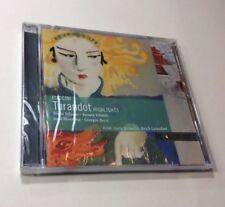Turandot (highlights) -Puccini  Birgit Nilsson  CD ** Brand New **
