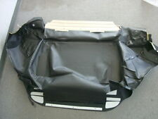Saab 9-3 convertible top storage bootwell