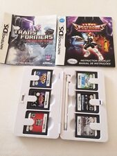 Nintendo DS (DS Lite) Duo Game Case My Zelda white With 6 games Transformers +++