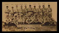 1913 Detroit Tigers Team Picture Ty Cobb Baseball Team Print