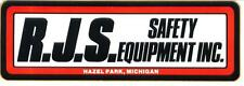 Rjs Safety Equipment Contingency Racing Decals