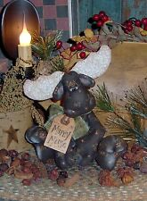 Primitive Marny Moose Winter Ornie Doll Paper Pattern #220