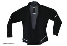 Nike Womens Soft Shell Cycling Windproof windbreaker Jacket L msrp:$149 black