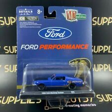 M2 2020 Release 1968 Ford Mustang Custom COBRA JET FORD PERFORMANCE 1:64