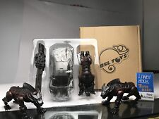 [Toys Hero] In Hand TRANSFORMERS BSL-01 Peru Kill Lockdown with 3 hell hounds