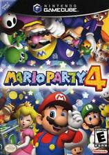 Mario Party 4 Complete in case w/ manual - Nintendo GameCube