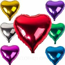 Valentine's Day Heart Party Foil Balloons