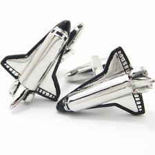 Space Shuttle Cufflinks Plane Nasa Gift Astronaut Moon Craft Orbital